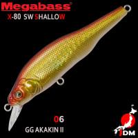 MEGABASS X-80SW SHALLOW 06
