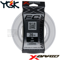 X-BRAID ABSORBER FC 60 M SHOCK LEADER 20 LB