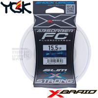 X-BRAID ABSORBER SLIM&STRONG FC 30 M SHOCK LEADER 15.5 LB