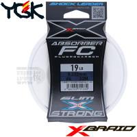X-BRAID ABSORBER SLIM&STRONG FC 30 M SHOCK LEADER 19 LB