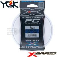X-BRAID ABSORBER SLIM&STRONG FC 30 M SHOCK LEADER 24 LB