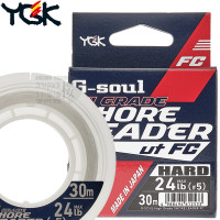 G-SOUL HI GRADE SHORE LEADER HARD FC 30 M SHOCK LEADER 24 LB