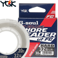 G-SOUL HI GRADE SHORE LEADER HARD FC 30 M SHOCK LEADER 32 LB