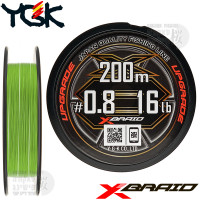 X-BRAID UPGRADE X8 200 M PE LINE 0.8
