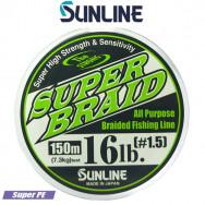 SUNLINE SUPER BRAID DARK GREEN 150 M