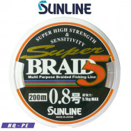 SUNLINE SUPER BRAID PE5 200 M