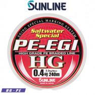 SUNLINE SALT WATER SPECIAL PE-EGI HG 240 M