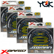 X-BRAID SUPER JIGMAN X8 300 M PE 8 BRAID