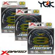 X-BRAID SUPER JIGMAN X8 200 M PE 8 BRAID