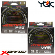 X-BRAID JIGMAN ULTRA WX8 200 M PE 8 BRAID