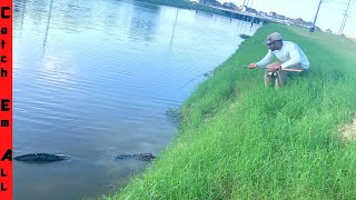 ALLIGATOR FISHING Gone WRONG!