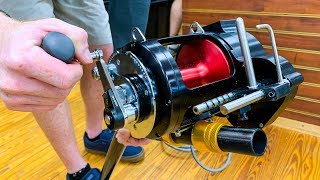 Spooling GIANT Reels for Monster Fish